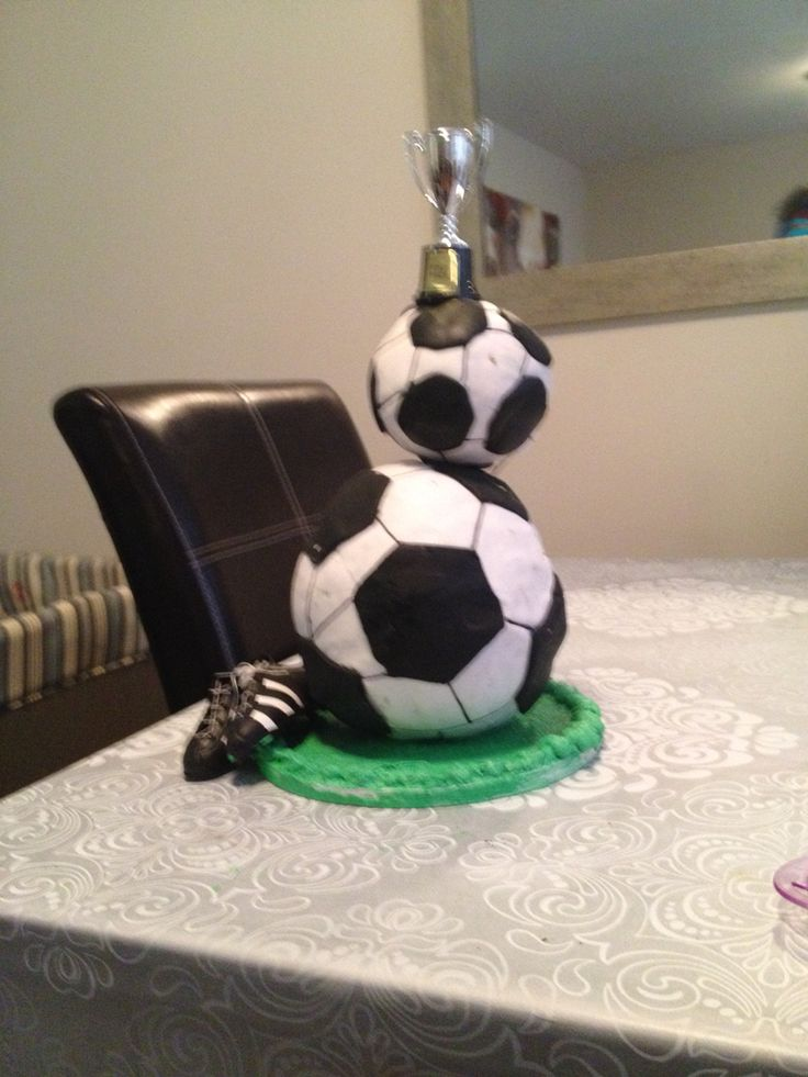 Soccer Ball Cake, Double