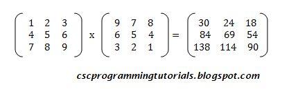 Matrix Multiplication: 3x3 matrix multiplication program using the Pascal Programming Language. #pascalProgramming #programming #matrixmultiplication