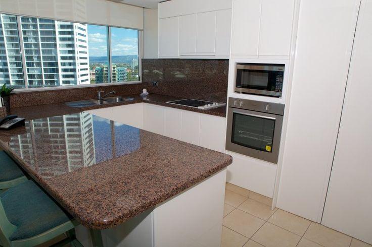 Carmel By The Sea - 3 Bedroom Apartment Kitchen - Broadbeach Three Bedroom Accommodation