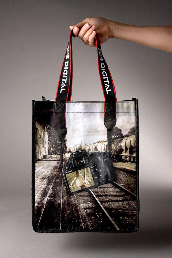 Canon 500D DSLR Promotional Handbag- I SO deserve one of these! <3