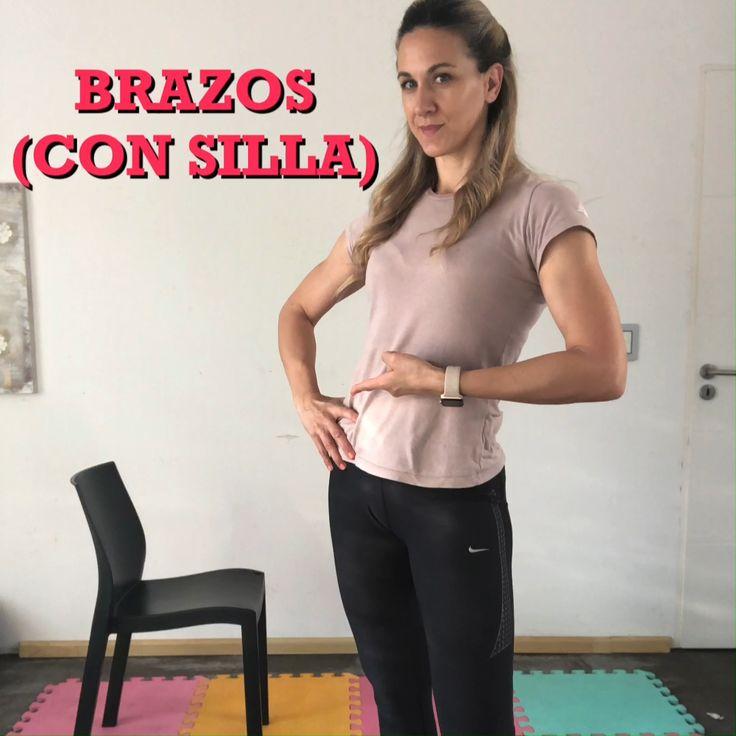Con un único elemento, te propongo un circuito que va a poner a tus brazos a trabajar! Pilates, Yoga, Gym, Workout, Health, Exercises, Training, Motivation, Women
