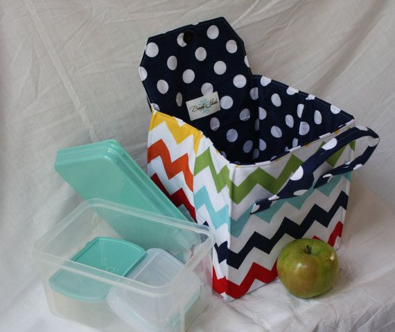 picnic perfect lunch tote pdf sewing pattern bento box. Black Bedroom Furniture Sets. Home Design Ideas