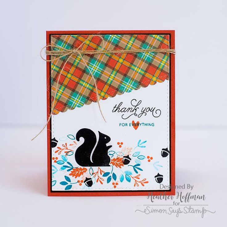 Simon Says Stamp Card Kit of The Month OCTOBER 2016 Nuts About You CK1016 zoom…