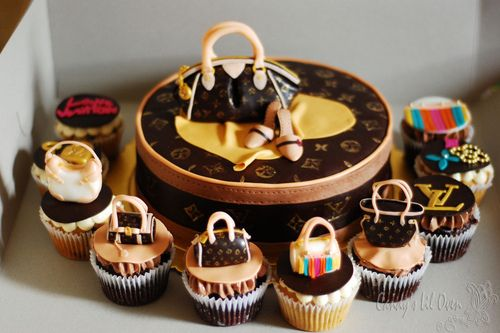 LV Cakes and Cupcakes