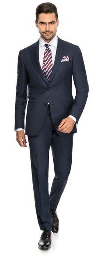 OVER CHECK - Louis Purple Luxury Suits