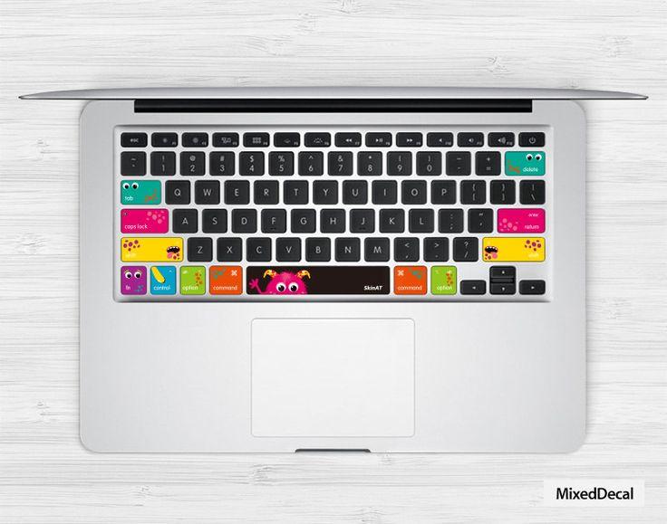 Keyboard sticker laptop macbook decal keys cover skin for apple 1112 13 1517