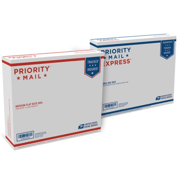Dual Use Priority Mail Express Box Dempbox2 Pack Of 10 With