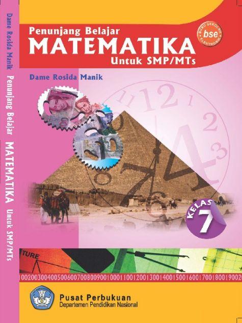 Download Buku Siswa KTSP SMP dan MTs Kelas 7 Penunjang Belajar Matematika