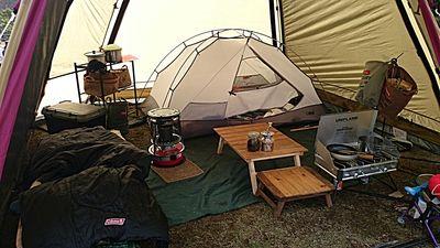 庶民派 キャンプライフ 冬キャンプ初心者の冬仕様サイト 寒い夜もこれで乗り切れる キャンプ 冬のキャンプ アウトドアライフ