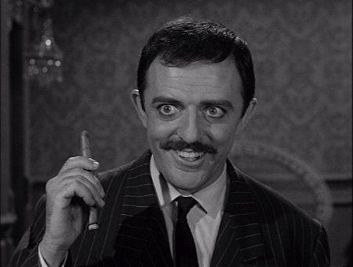 """John Astin  The actor who played Gomez on """"The Addams Family"""" was always a class act. Now 84 and a practicing Buddhist, he teaches method acting at Johns Hopkins, where he studied math in the early '50s. Carolyn Jones, aka Morticia Addams, married actor Peter Baily-Britton in 1981 while being treated for cancer, and Astin remained a close friend, attending her wedding and delivering the eulogy at her funeral in 1983."""