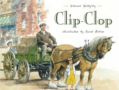 """FICTION:At the turn of the twentieth century in Canada, Consuela can recognize which wagon is coming down her street by the sound made by the horses' feet, whether it is the milk wagon that goes """"clip-clop-clink"""" or the iceman's Clydesdale going """"clip-clipclop."""""""