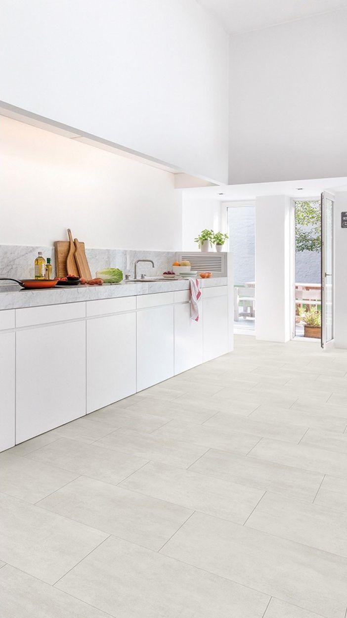 Quick Step Livyn Ambient Click Beton Clair Amcl40049 Sol Vinyle Revetement De Sol En Vinyle Et Cuisines Design