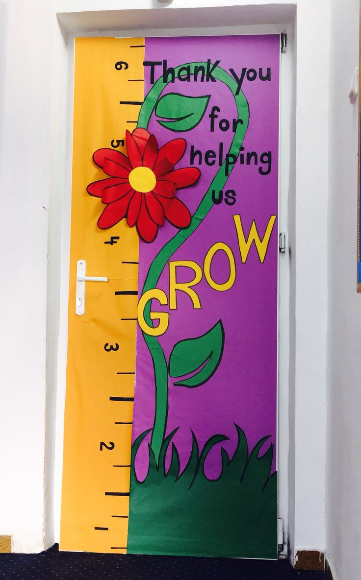 Kindergarten door decoration ideas attractive home design for 737 door design