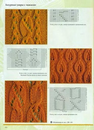 knit lace cable pattern