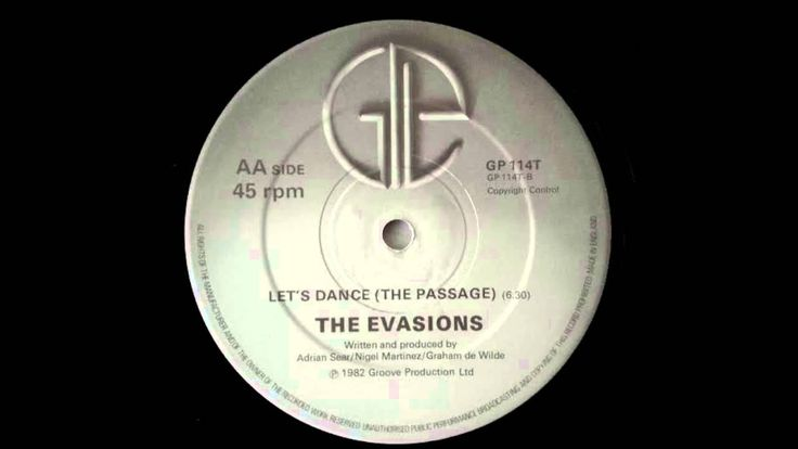 THE EVASIONS - Let's Dance (The Passage) 1982 - RARE MONSTER UK BOOGIE