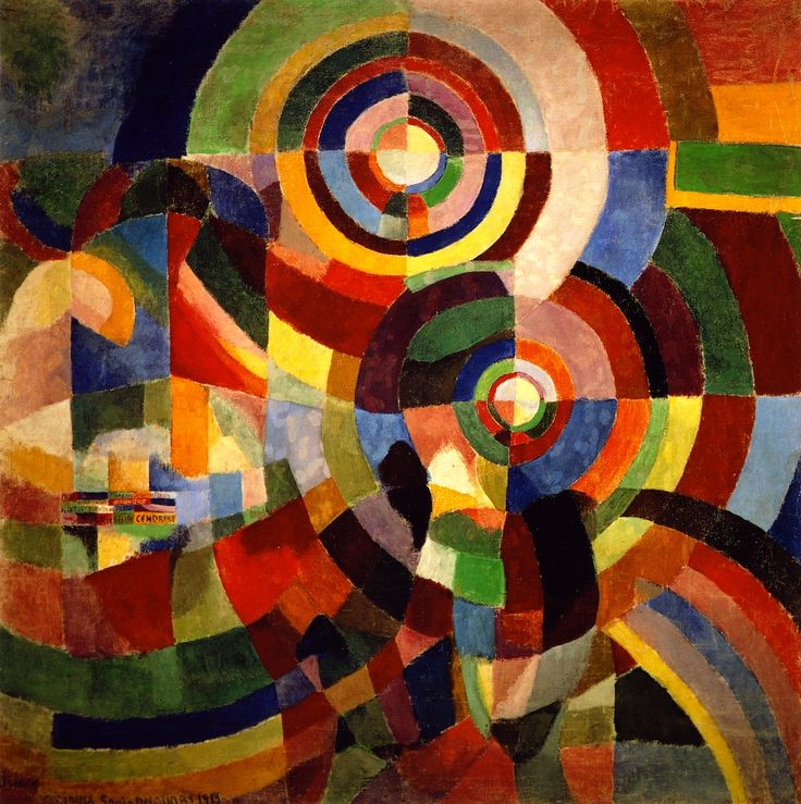 Electric Prisms Sonia Delaunay