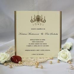Svatební oznámení W538