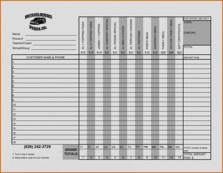 Excel Fundraiser Order Form Template Elegant Fundraiser Order Form Template Excel C B0c50 Fundraising Order Form Order Form Template Order Form Template Free