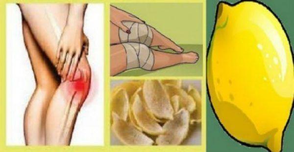 Πώς Το Λεμόνι Σε Απαλλάσσει Από Τους Πόνους Στα Γόνατα!