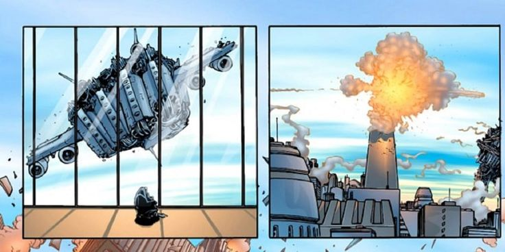 X-Men y el 11 de septiembre. - En un cómic de New X-Men se realiza un ataque contra un rascacielos de la ciudad mutante de Ganesha, y este cómic escrito por Grant Morrison fue lanzado a la venta a solo unos días de que sucedieran dichos atentados.