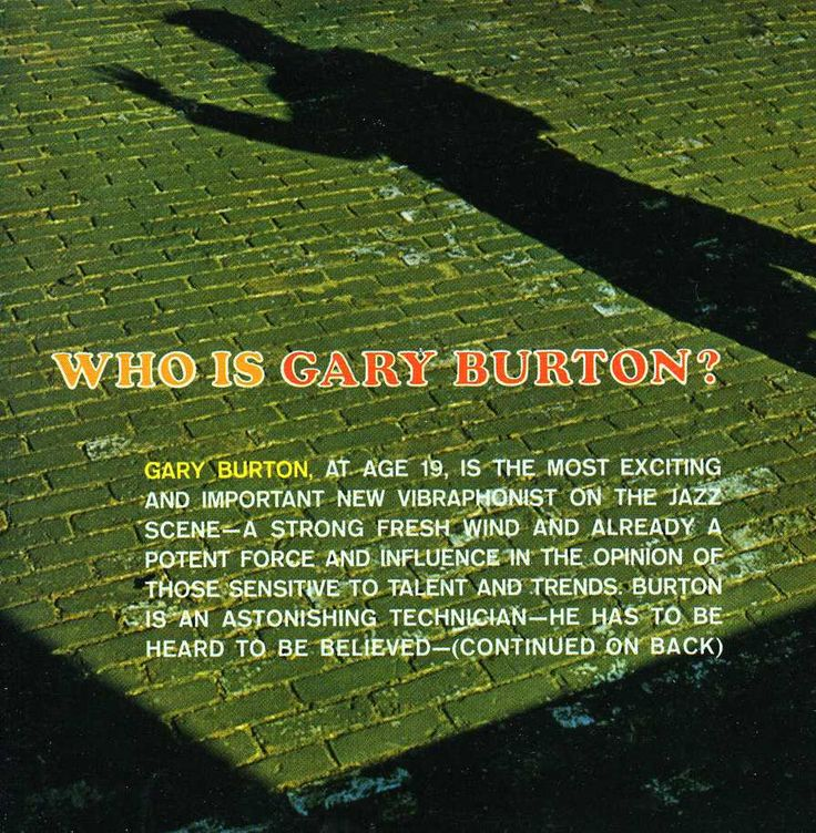 Gary Burton - Who Is Gary Burton? + Subtle Swing