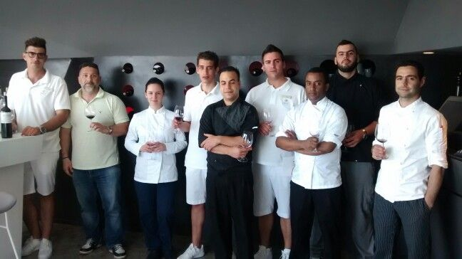 Training for grace hotels and wine tasting for Nemea lantides