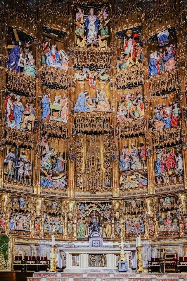 トレド大聖堂に入って貴重な美術品を見る。 スペイン旅行のおすすめ見所・観光アイデアまとめ。