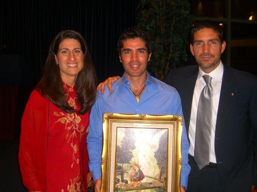 Jim Caviezel Family | ... ) receives an award from Jim ...