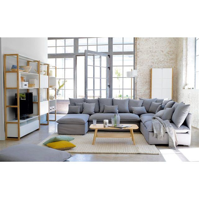 Image banquette 2 places fixe ou convertible bachette for Decoration maison la redoute