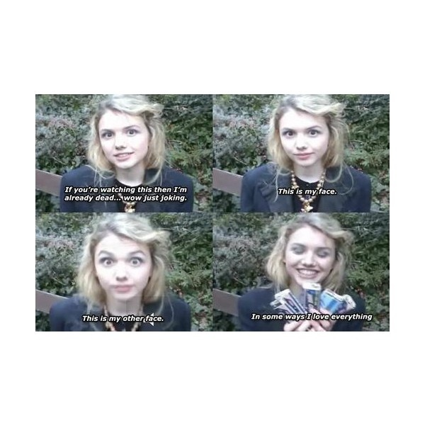 cassie skins | Tumblr ❤ liked on Polyvore