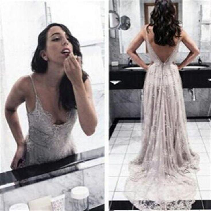 Spaghetti Straps Prom Dresses,V-Back Prom Dresses,Sexy Prom Dresses,Charming Prom Dresses,Popular Party Dresses,Long Prom Dresses ,Prom Dresses Online,PD0087