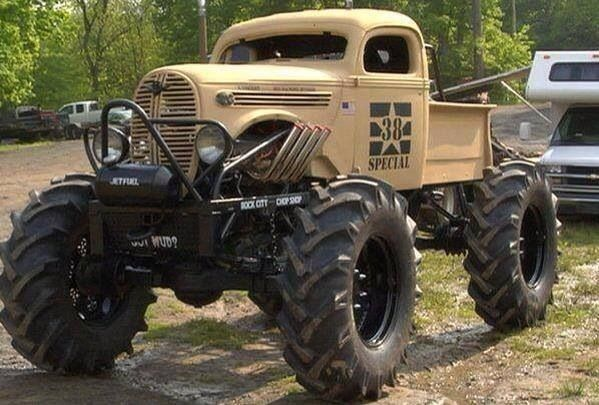 Extreme 4X4 Mud Truck
