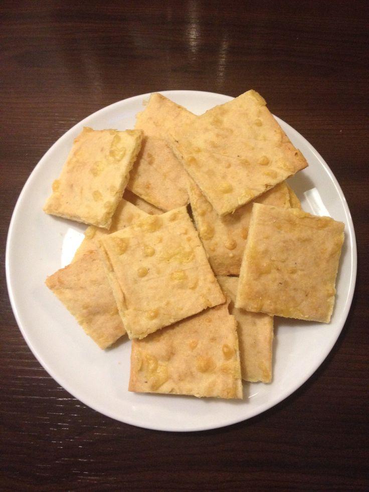 Glutenvrije kaascrackers van Gezond met Jacoline, lekker!