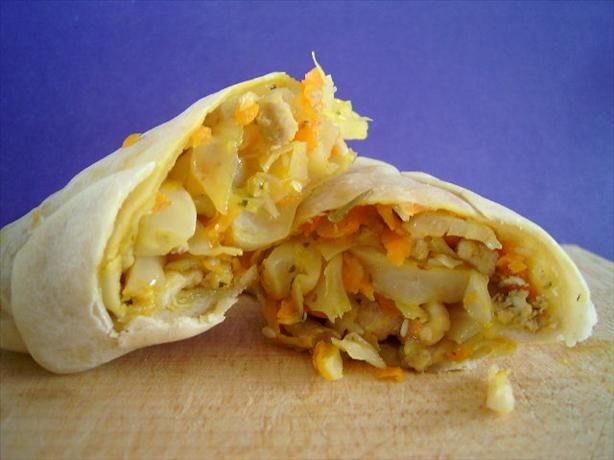 Egg roll wrappers - recommended to add 1 tsp. of sugar to get it crispier.
