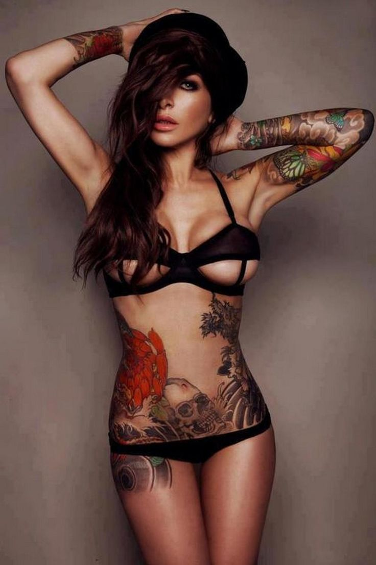 from Castiel sexy girls with tattoos
