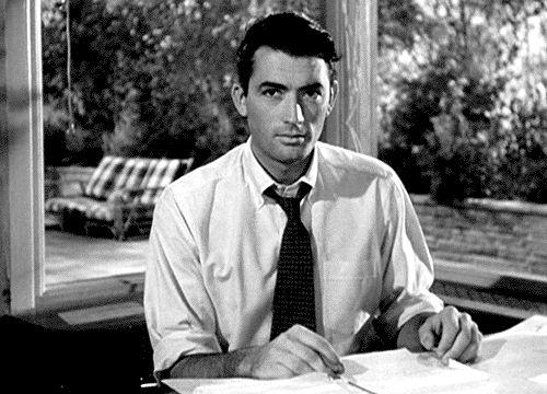 GIF: Gregory Peck | Via Margutta 51: Classic Movie Reviews
