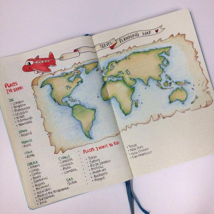10 Creative Travel Bullet Journal Ideas You'll Love