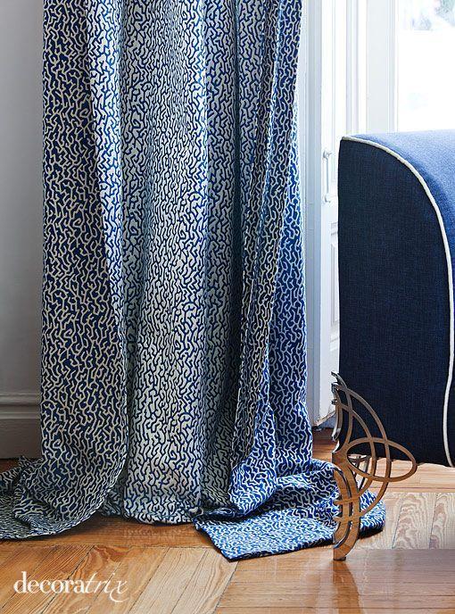 cortinas del espacio de carrillo en casa decor