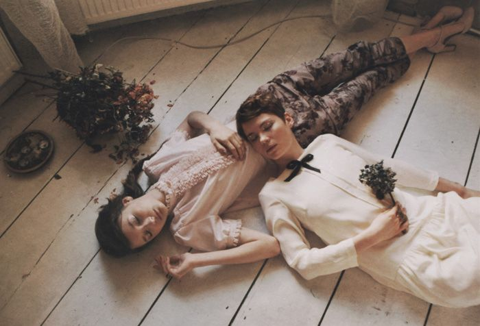 Alexandra Grecco Julie Dress and Berry Floral pants shot by Sofie Olejnik