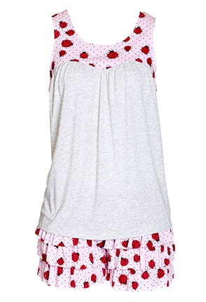 Image for Ladybird Knit Pj Set from Peter Alexander