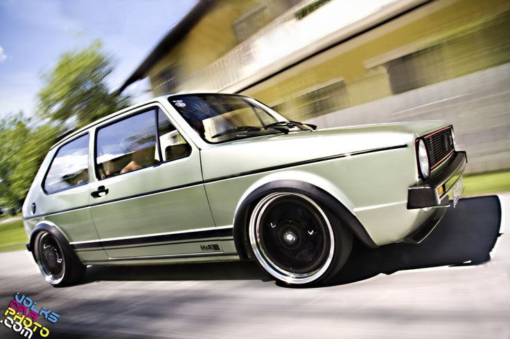 Car pornography - Keep moving Starring: Volkswagen Golf GTI (by...