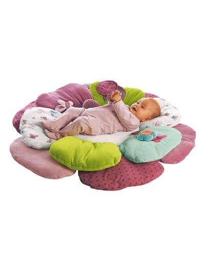 Tapis d'éveil bébé fleur thème Graphic flor VIOLET - vertbaudet enfant