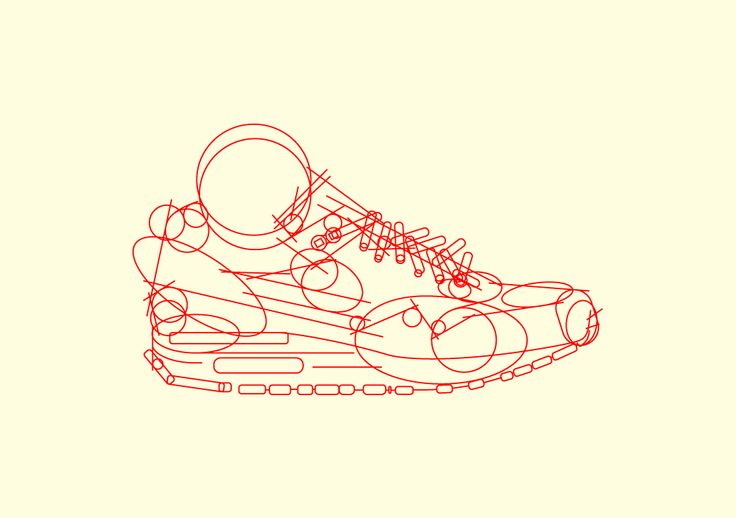 Phase 1: Nike Airmax 1 Illustration