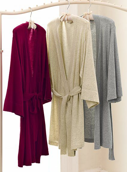 mmmm. I'll need a robe even more, I'm guessing, once the baby's here and there's guests in the house all the time. Sweater Robe - Victoria's Secret