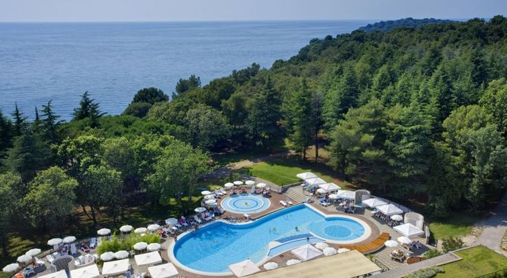 Valamar Rubin Hotel Porec Surrounded by a pine forest, Valamar Rubin Hotel is next to the beach, only a few minutes' walk from the centre of Porec. Featuring a restaurant, tennis courts and an outdoor pool, it offers air-conditioned rooms with satellite TV and a balcony.