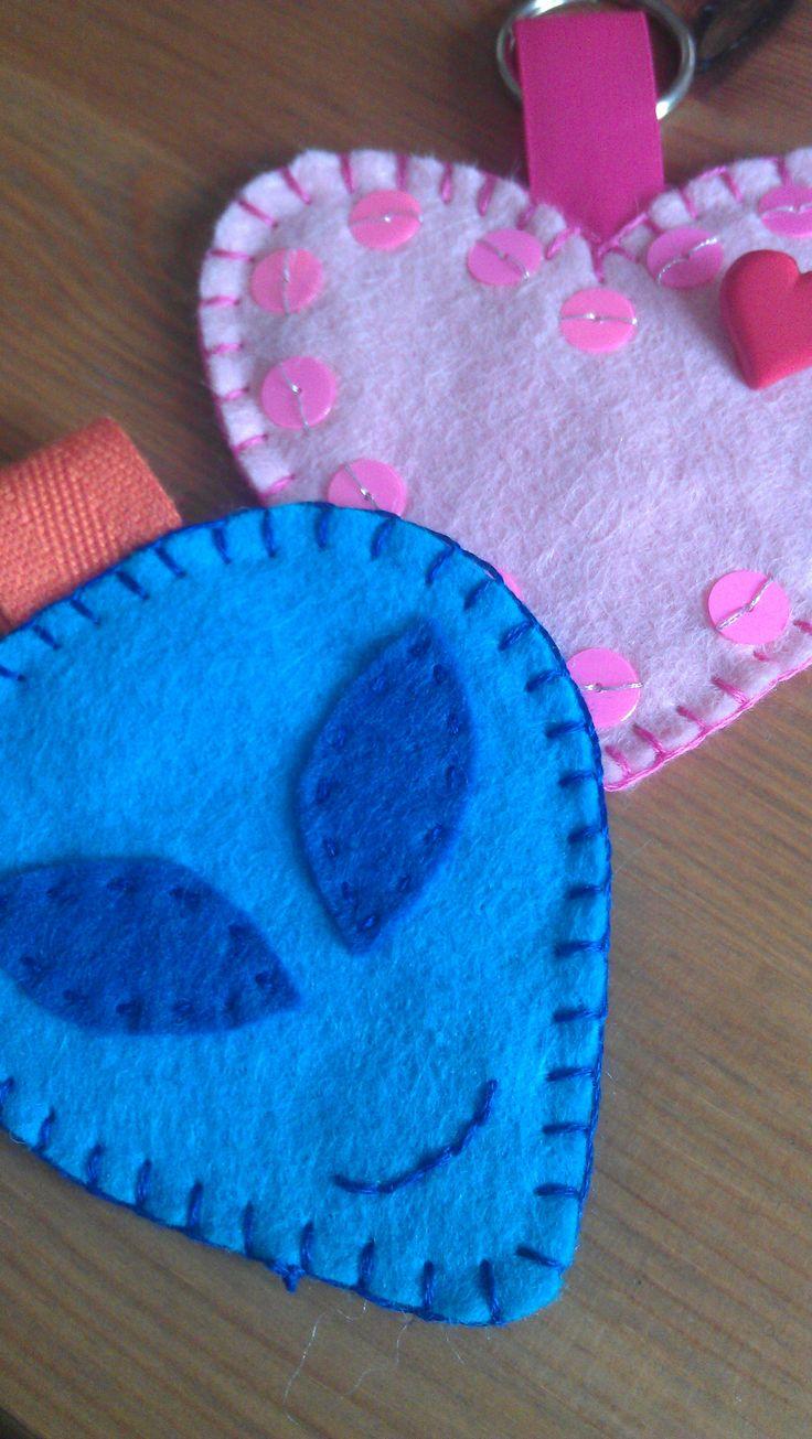 children's keyrings/bag charms