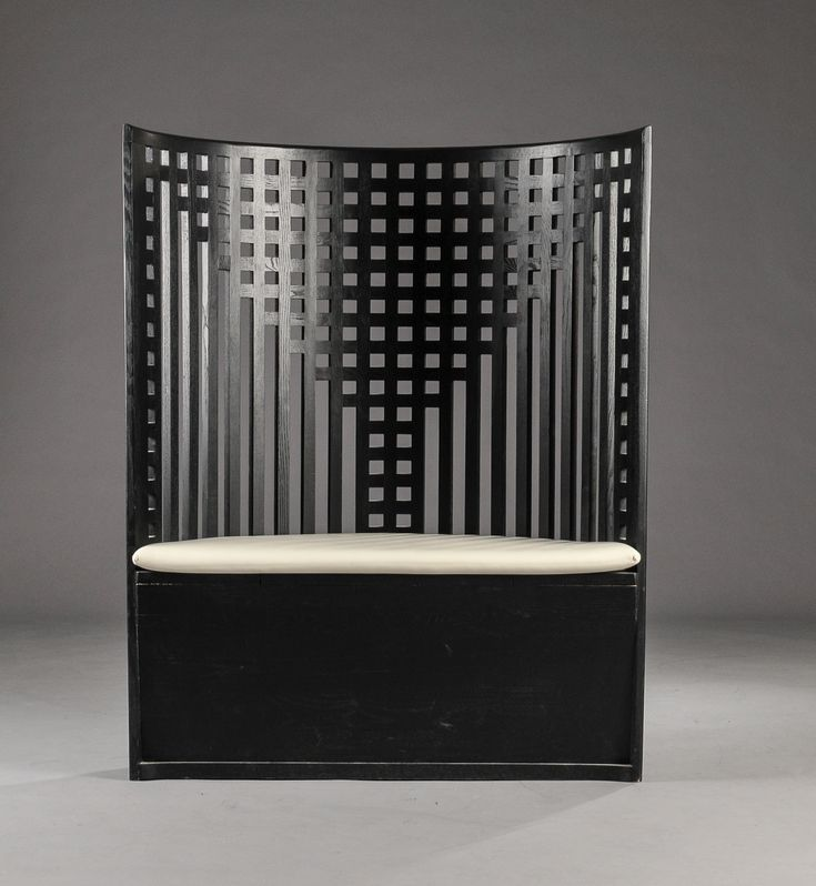 Charles rennie mackintosh willow chair settee the for Designer room glasgow