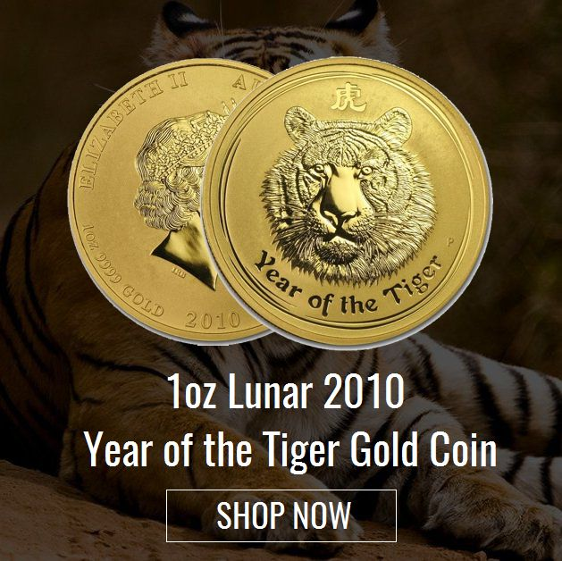Brisbane Bullion presents the 1oz Lunar Tiger Gold Coin (2010) from the Australian Lunar Series II by the Perth Mint. Order these coins to add to your collection, gift to mark a special occasion or own as an investment property. Know more https://brisbanebullion.com.au/1-oz-lunar-2010-year-of-the-tiger-gold-coin  #goldcoin #silvercoin #gold #silver #platinum #rooster #australian #lunargoldcoin #brisbanebullion #buy #shopnow #bestprice #brisbane #queenlands #australia #shoponline #pamp…