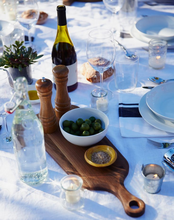 Vineyard Dinner table accessories #myopenkitchen