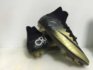 FREE SHIPPING brand new NiKE CR7 Mercurial Superfly FG High Cleats - All Size GOLD #highcleats #superfly #mercurial